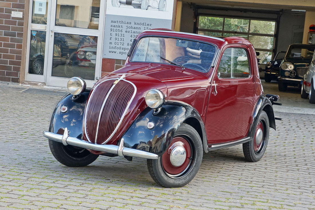 Fiat Topolino A Sporting Cars