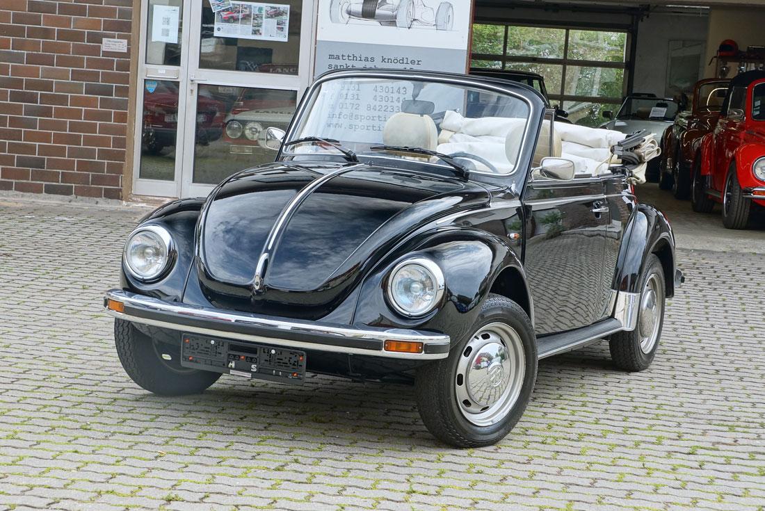 vw k fer 1303 cabrio sporting cars. Black Bedroom Furniture Sets. Home Design Ideas